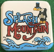 "Wdw Disney 1980s Splash Mountain Vulture on Logo 2"" Square Button Pin -Pp #19756"