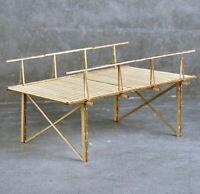 1:35 Holzbrücke für Diorama echte Holz 180mm*120mm*96mm