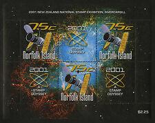Norfolk Island   2001   Scott # 731    Mint Never Hinged Souvenir Sheet