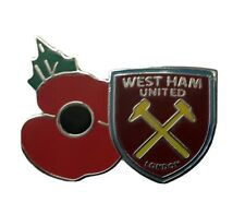 West Ham United Badge - Football Pin Badges & Memorabilia With Military Donation