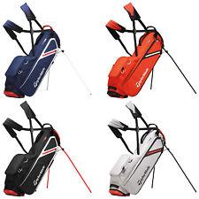 2020 TaylorMade Mens FlexTech Lite Golf Stand Bag Lightweight Dual Carry Strap