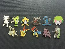 Pokemon TCG : XY PROMO MYTHICAL COMPLETE PIN COLLECTION - ALL 11 PINS!