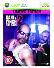 Kane and Lynch 2: Dog Days - Limited Edition  (Xbox 360) WITH MANUAL FREE POSTAG