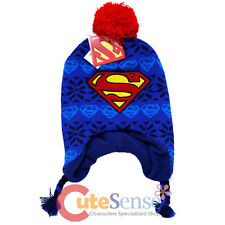 DC Comics Superman Toddler Beanie Laplander Super Man logo Baby Hat