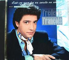 """FRÉDÉRIC FRANÇOIS - CD """"EST-CE QUE TU ES SEULE CE SOIR?"""""""