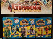 Kenner Super Powers Batman & Robin+ Joker.. All Sealed.. Great Lot.. L@@k