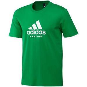 Adidas Karting Tee / T-Shirt Green/White