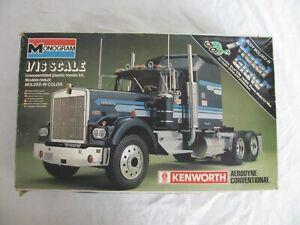 Monogram 1/16 Kenworth Aerodyne Conventional Tractor Semi Truck #2502