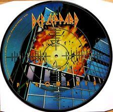 NEW! DEF LEPPARD PYROMANIA VINYL LP PICTURE PIC DISC Mercury – B0008105-01