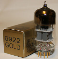 (1) Single Electro Harmonix 6922 Gold Pin pre-amp tube, Brand NEW