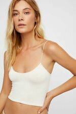 Free People Intimate Seamless Thin Skinny Strap Brami Cami Tank Top Xs-L $20