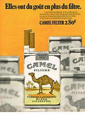 PUBLICITE ADVERTISING 064  1971  CAMEL  cigarettes 2