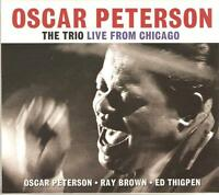 OSCAR PETERSON THE TRIO LIVE FROM CHICAGO - 2 CD BOX SET - RAY BROWN, ED THIGPEN