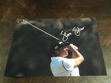 SHERRI STEINHAUER AUTOGRAPHED LPGA GOLF 8X10 PHOTO
