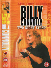 BILLY CONNOLLY - TWO NIGHT STAND VHS VIDEO PAL 1997 R18