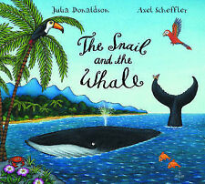 JULIA DONALDSON/ AXEL SCHEFFLER-SNAIL AND WHALE NEW CD