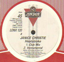JANICE CHRISTIE - Heat Stroke (Mixed By Larry Levan, Tony Humphries) - London