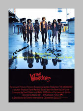 """THE WARRIORS PP SIGNED POSTER 12""""X8"""" MICHAEL BECK N2"""