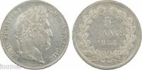 Louis-Philippe Ier, 5 francs IIe type Domard, 1834, T = Nantes - 8