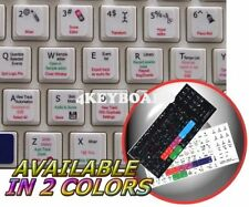 Apple Logic Pro 9 keyboard sticker white background