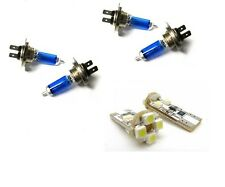 4 ampoule xenon H7 + H7 + 2 LED CANBUS BMW SERIE 3 E46 320D 330D 320 CD 330 CD