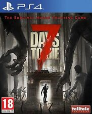 7 DAYS TO DIE    playstation 4  PS4   NUOVO  PROMO