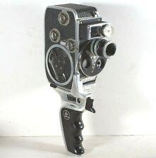 Paillard Bolex D8L 8mm Movie Camera With 13mm f1.8 Lens Inc Grip & Working Meter