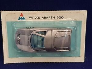NOS VINTAGE TINTOYS ABARTH 2000 WT-206 Diecast 1:60 SEALED SEE PICS
