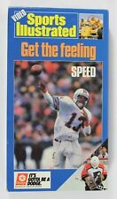 Sports Illustrated - Get the Feeling: Speed! ~VHS - featuring 1987 sports stars