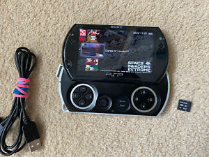 Sony PSP Go 16GB Handheld System - Black - M2 4gb card And Charger