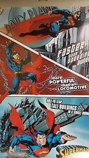 Poster Vintage Superman 61cm X 91cm Aprox por favor no ofrece
