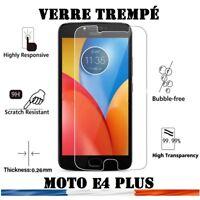 vitre protection verre trempé film protecteur écran pour Motorola Moto E4 Plus