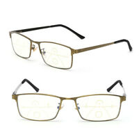 Eyeglasses Blue Light Blocking Progressive Multifocal Reading Glasses