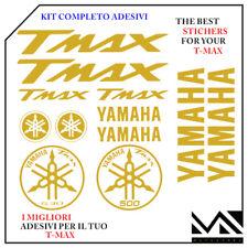 KIT 12 PEZZI SERIE DI ADESIVI YAMAHA TMAX  T- MAX 500 - 530 COLORE ORO