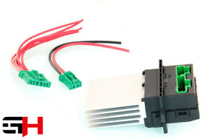 1 Blower Regulator Resistor Fan for Citroen,Nissan,Peugeot,Renault + Cable