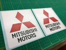 Mitsubishi Evolution Lancer Evo side Spoiler panel Decals Stickers any colours