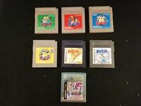 Pokemon Green Red Blue Yellow Silver Gold Crystal Bundle -Game Boy- Japan Import