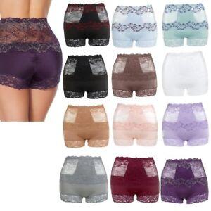 Rhonda Shear Lace Overlay Pin-Up Shortie 3 Pack 583509-J