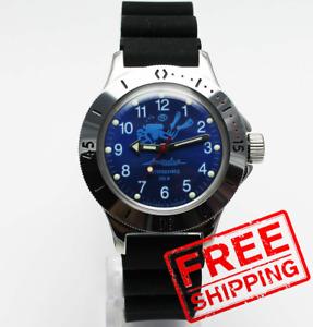 Vostok Amphibia Automatic 120656 Scuba dude diver MEN Russian wristwatch