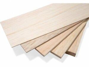 Balsa Wood Sheet 100mm Model Making Architect Arts Crafts. *Top Quality!