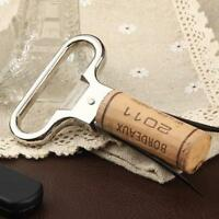 Two-prong Cork Puller Ah-so Wine Opener Professional Red Wine Champagne Y