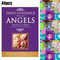 Angel Tarot Cards Deck Doreen Virtue & Radleigh Valentine Psychic Oracle 44 Card