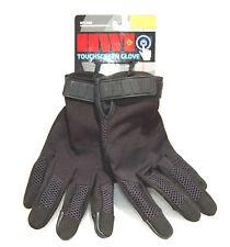 HWI Gloves, Fleece Touch Screen Fingertip Tactical, Black, UTS100