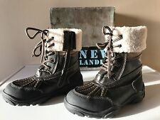 Brand New - NEW LANDER Zip Up Winter Boots - size - EUR 33 - AUS 1