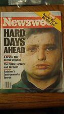 February 4, 1991 Newsweek Magazine  MINT CONDITION