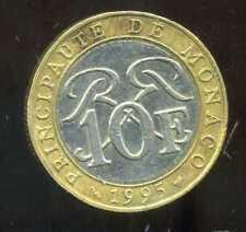 MONACO 10 francs 1995