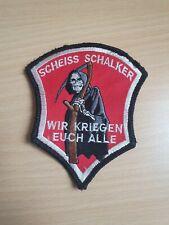 """150x15 cm Anti Gelsenkirchen Schal /""""GE Zecken/"""" Fan Kurve Block 100/% Acryl NEU"""