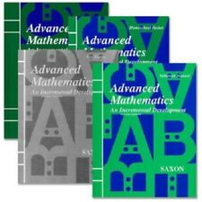 Saxon Advanced Math Homeschool Kit with Solutions Manual, 2nd Edition NEW!