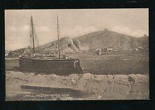 Somerset Weston-super-Mare UPHILL Boat c1910/20s? PPC Valentine Sepiatype