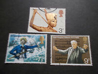 GB 1972 Commemorative Stamps~Anniversaries~Very Fine Used Set~UK Seller